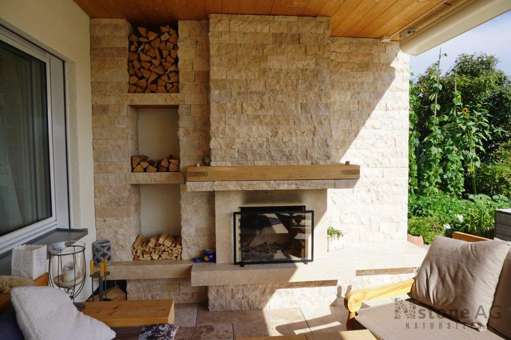 travertin verblender antique natursteine der nstone ag. Black Bedroom Furniture Sets. Home Design Ideas