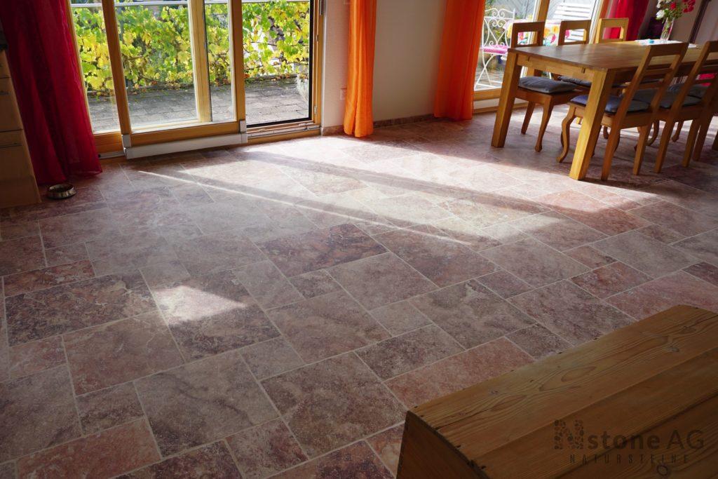 travertin fliesen rot natursteine der nstone ag. Black Bedroom Furniture Sets. Home Design Ideas