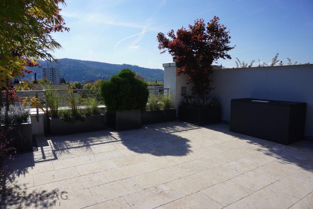 Travertin Terrassenplatten Palace Select 11