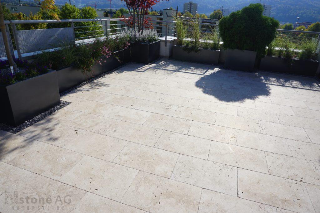Travertin Terrassenplatten Palace Select 15