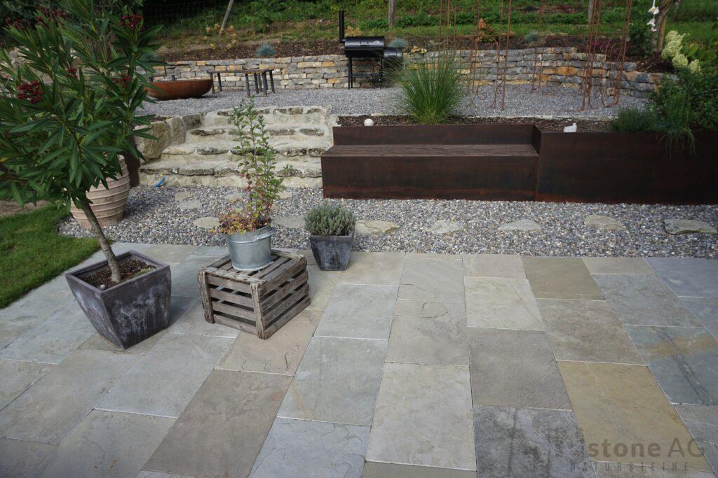 Kalksteinplatten Giardino 10