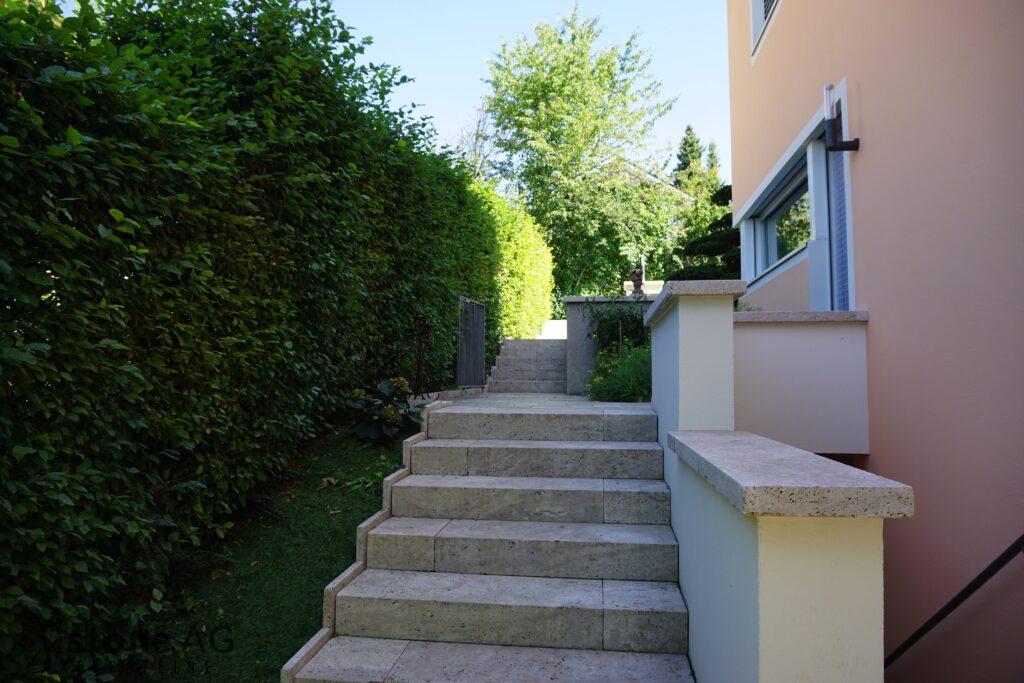 Travertin Terrassenplatten Noce 12