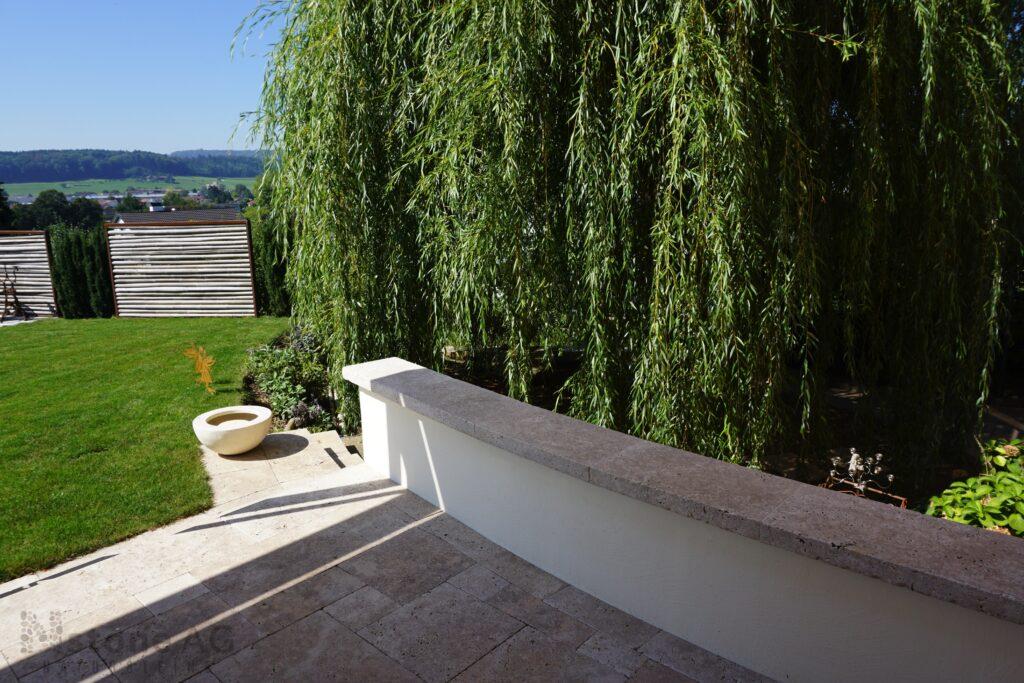 Travertin Terrassenplatten Noce 16
