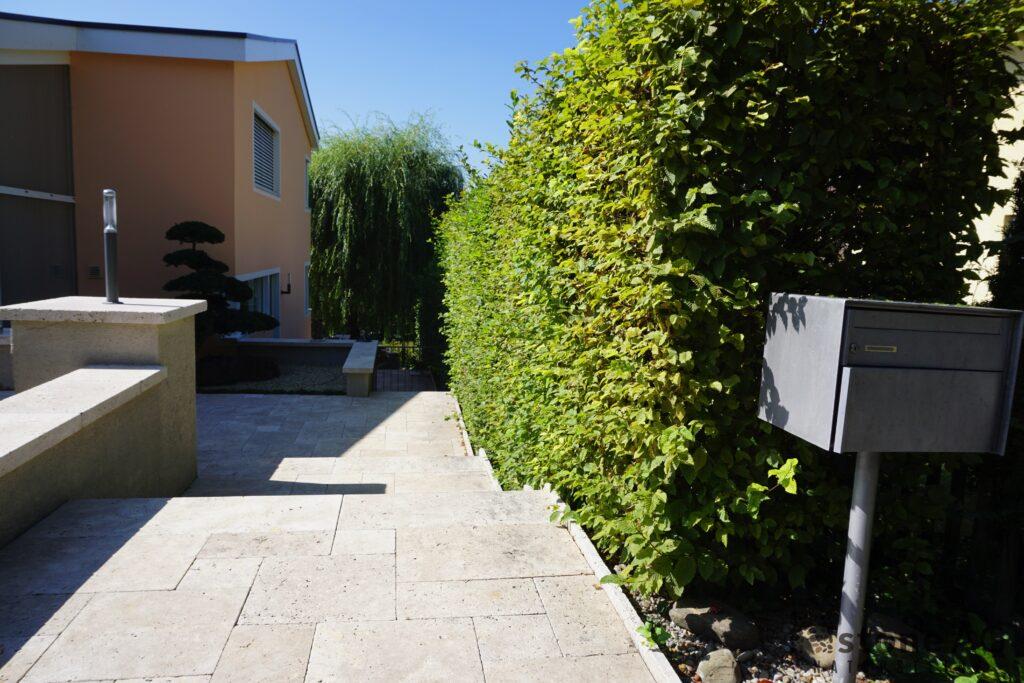 Travertin Terrassenplatten Noce 2
