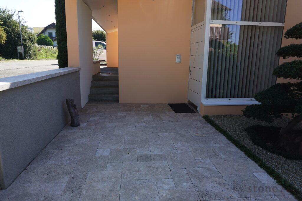 Travertin Terrassenplatten Noce 3