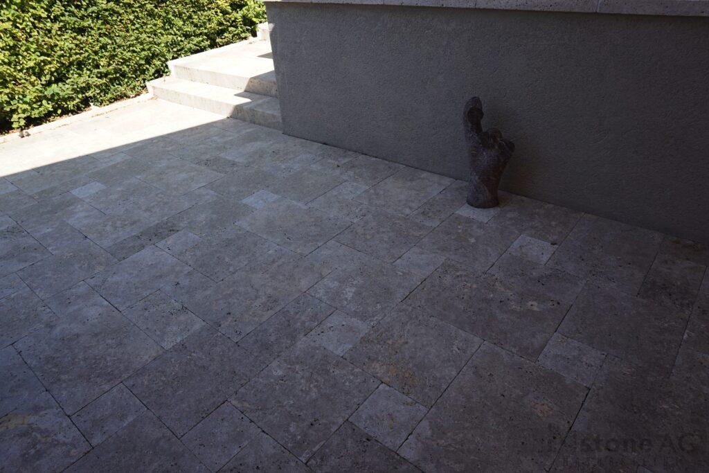 Travertin Terrassenplatten Noce 5