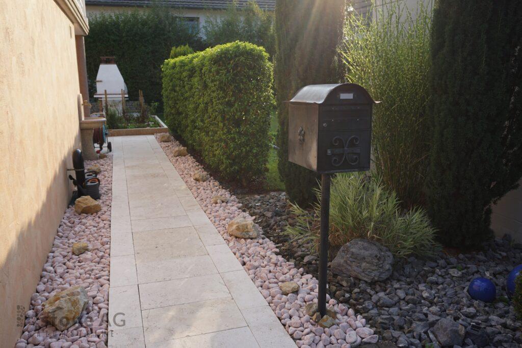 Natursteinplatten & Gartenplatten & Terrassenplatten